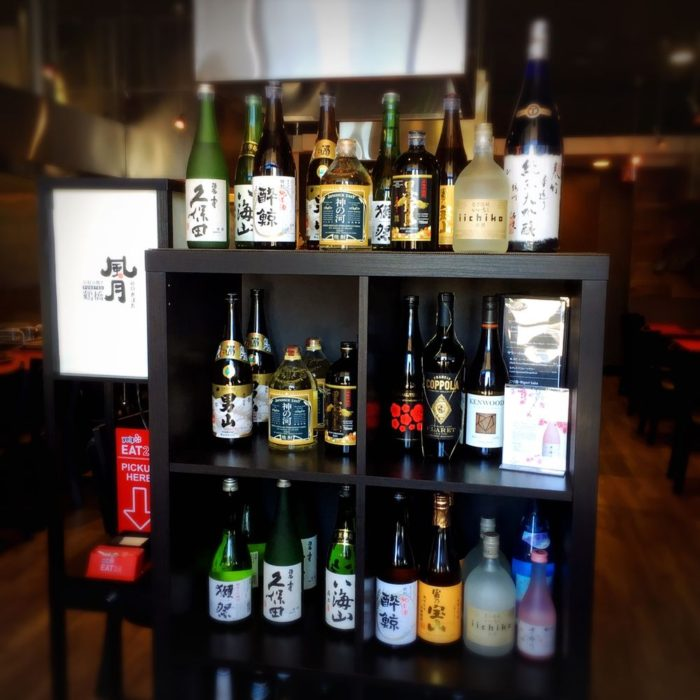 We offer a variety of sake and shochu as well as Asahi draft imported from Japan!