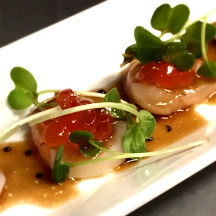 Seared Scallop Carpaccio