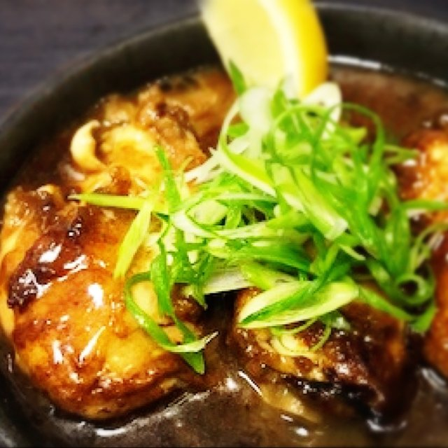 Kaki Butter Soy Sauce (grilled oyster with butter soy sauce)